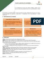 MAN-PE-001 Manual de Planta Externa v.0