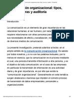 (a.com) Comunicación Organizacional_ Tipos, Flujos, Barreras y Auditoría
