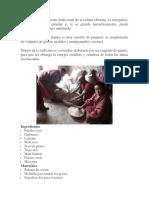 El Sampa Es Un Alimento Tradicional de La Cultura Tibetana