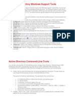 Active Directory Windows Support Tools