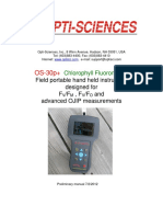 OS-30P+ Manual
