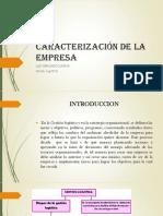Caracterización de La Empresa ACT #7 EVIDENCIA#1