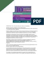 ARGENTINA 10mo. Encuentro Memorias Saber