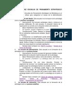 QUÉ SON LAS DIEZ ESCUELAS DE PENSAMIENTO ESTRATÉGICO.docx