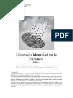 Libertad e Identidad en La Literatura