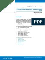Atmel 42112 SAM External Interrupt Driver Extint ApplicationNote AT03246