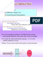 X-Ray Diffraction principles