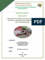 Modelo Informe Reciclaje