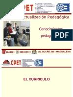 conocimientos Pedagógicos 3