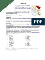 16 Distritos de Cañete