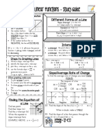 s6 05-09-18 -Study Guide-linear Functions