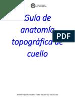 Guia Anatomia Topografica - Regiones de Cuello