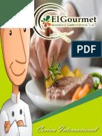 Cocina Internacional El Gourmet