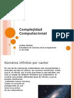 Teoría de la Complejidad computacional