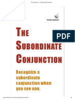 Grammar Bytes! __ the Subordinate Conjunction