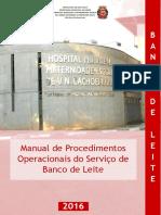 Manual Banco de Leite