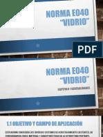 Norma e040