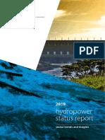 2019 Hydropower Status Report 0