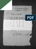 Decreto Sobre Reclutamiento de Pardos Libres Para El Arma de Infantería.py-aNA-SH-280n13!49!53