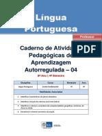 Lingua Portuguesa Regular Professor Autoregulada 8a 4b