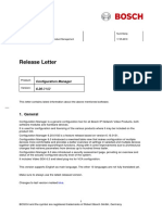 Bosch Releaseletter ConfigManager 6.20.0102