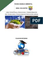 Propuesta Curricular Manejo Ambiental