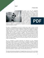 La Nueva Escritura-Cesar Aira