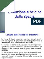 B06 Evoluzione e Origine Delle Specie.pptx