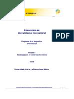 E- Commerce-Unidad 3. Estrategias en El Comercio Electronico