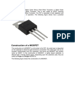 MOSFET Stands for Metal Oxide Silicon Field Effect