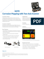 GE Application Note - Mentor UT_Two Axis Scanner for Corrosion Application