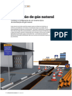 Tubulação de Gás Natural