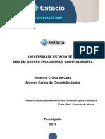 Resenha Critica - Analise das Demonstrações Contabéis.docx