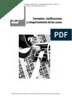 01)Padilla, D. R. (2008). Concepto, Clasificaciones y Comportamiento de Los Costos en Contabilidad Administrativa. México McGraw-Hill