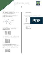 Preguntas Geometria Sexto Quiz 2019