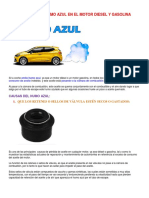 Las 5 Causas Del Humo Azul en El Motor Diesel y Gasolina