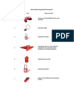 Checklist for Inspection of Lift Installations