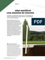 Alambrados Metálicos Com Mourões de Concreto