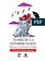 Teoría de la interpretación (Paul Ricoeur).pdf