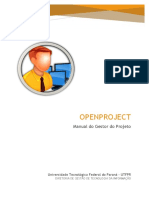 Openproject Manual Gestor Do Projeto