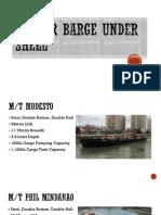 Tanker Barge Under Shell