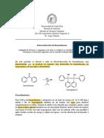 Procedimiento benzofenona