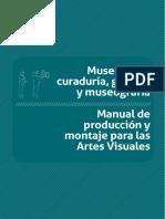 Museología, curaduría, gestión y museografía