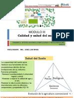 MODULO III, Calidad y Salud; dinamica, complijidad y resiliencia del suelo..pptx