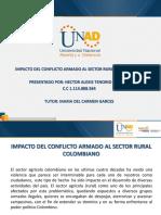 Impacto Del Conflicto Armado Al Sector Rural Colombiano