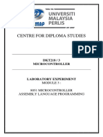 DKT218 Lab3 Assembly Language Programming