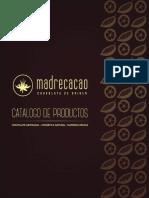 Catalogo de Productos Madrecacao