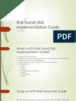 5-31-16 Rail Transit SMS Guideline