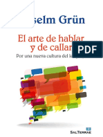 EL ARTE DE HABLAR Y DE CALLAR. Por una nueva cultura del lenguaje - Anselm Grun.pdf