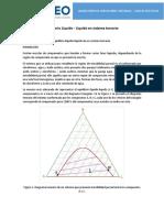 Guía de Práctica 5 - Equilibrio L-L Ternario